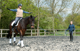 Sarah Sjoholm-Patience International Grand Prix Dressage Rider, British Horse Society Accredited Coach and British Dressage Para Coach and Trainer