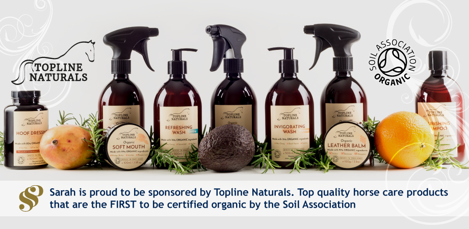 Sarah Sjoholm-Patience sponsored by Topline Naturals