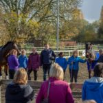 Dressage Demonstration with Sarah Sjoholm-Patience Raises Over £1000 for Epsom RDA